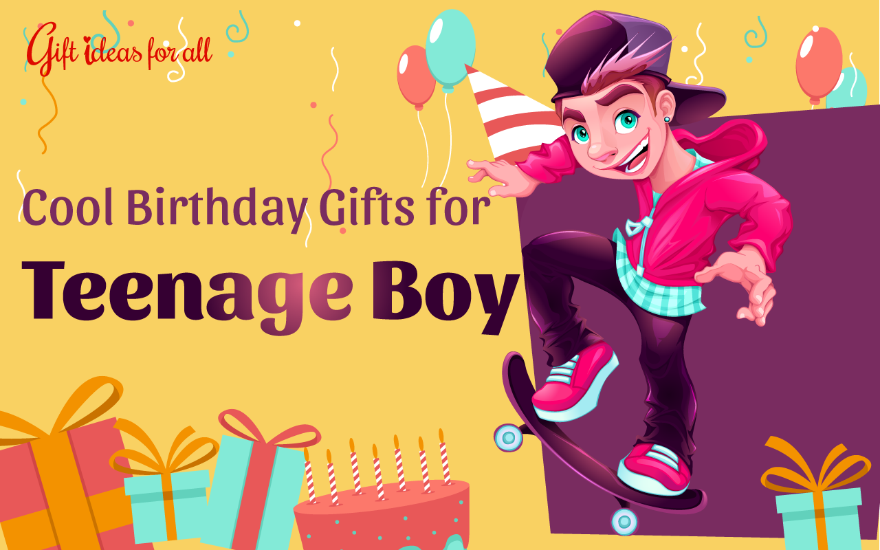 13 Super Cool Birthday Gift Ideas for the Teenage Boy - Gift Ideas ...