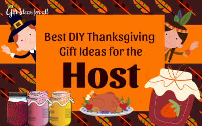 15 Simple and Easy DIY Gift Ideas for the Thanksgiving Host