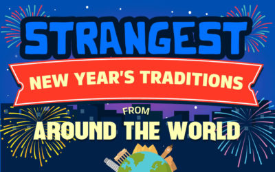 Strangest New Year's Traditions from Around the World